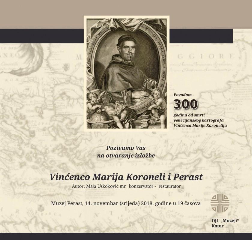 Otvaranje izložbe Vinćenco Marija Koroneli i Perast