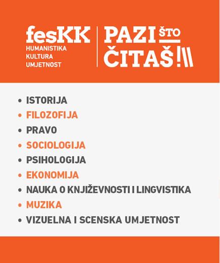 PRVI FESTIVAL KNJIGA – humanistike, kulture i umjetnosti u Crnoj Gori – FesK Kotor (FesKK) PAZI ŠTO ČITAŠ!