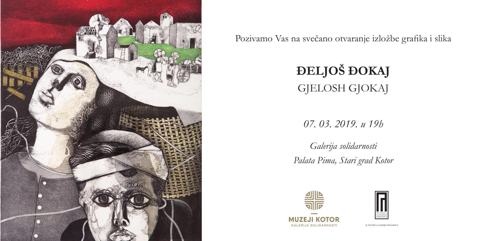 Otvaranje izložbe grafika i slika Đeljoša Đokaja u Galeriji solidarnosti
